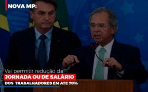 Nova Mp Vai Permitir Reducao De Jornada Ou De Salarios Contabilidade - ADL4 - APOIO DIRETO E LEGALIZADOR DE EMPRESAS